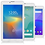 7-inch Unlocked 4G LTE 2SIM Tablet & Phone by Indigi QuadCore Android 9.0 Pie Smart Cell Phone - AT&T, T-Mobile,Straight Talk (White)
