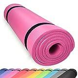 diMio Yogamatte Gymnastikmatte rutschfest mit Tragegurt