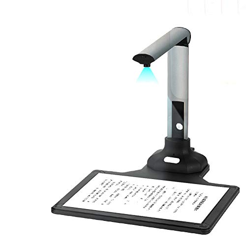 Learn More About Document Scanners Professional High Definition 1200 Pixels Camera Auto Focus Flatte...
