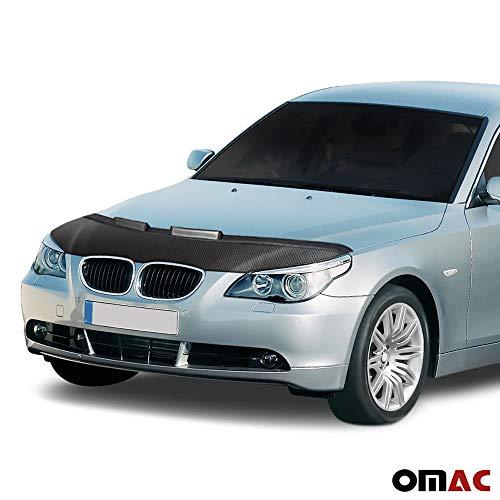 Haubenbra Bonnet Bra für 5er E60 E61 2003-2010 Carbon Optik Steinschlagschutz