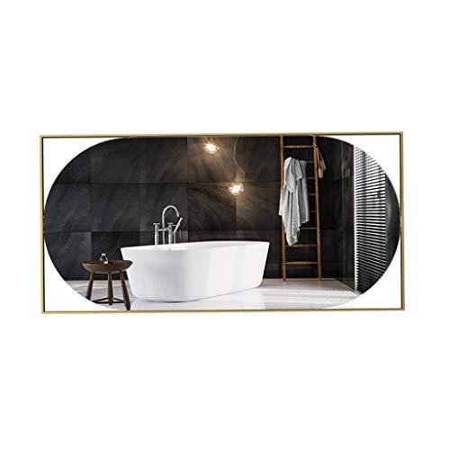 Diverse mirror Espejo Brillante Espejo de baño, Moda Espejo Grande Pared de la Sala de conferencias Salas de Hierro Forjado Decorativo Espejo de Cuerpo Completo Boutiques Espejo Maquillaje y E