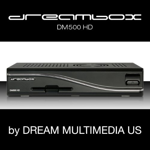 Dreambox DM 500 HD HDTV-Satelliten-Receiver (HDMI, DVB-S/S2-Tuner, SCART, Mini-USB) schwarz