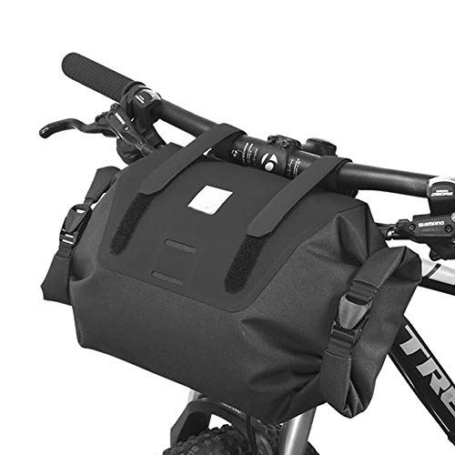 Best Bargain WMMDM Bike Frame Bag Bicycle Handlebar Bag to Increase Waterproof Bicycle Front Handleb...