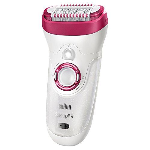 Braun silk-épil 99–521–Wet & Dry cordless elettrico depilazione epilatore per donne