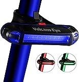 Volcano Eye Fanale Posteriore per Bici, Luce LED per Bicicletta 7 modalità di Illuminazione Super...