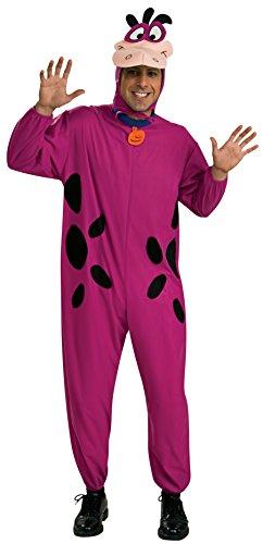 Rubie's Men's The Flintstone's Dino The Dinosaur Adult Costume, Purple, One Size