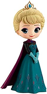 BANPRESTO Q POSKET Disney Characters -ELSA Coronation Style-(A Normal Color VER) Collectible Figure