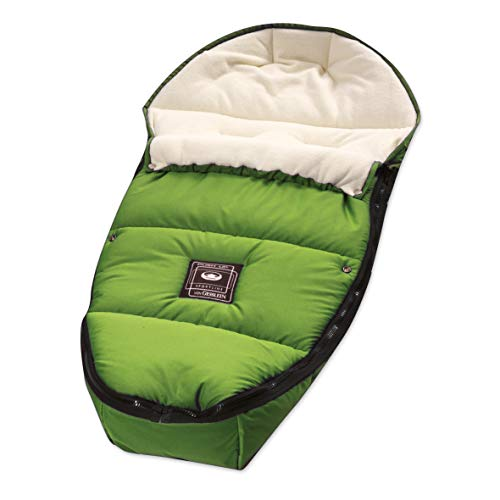 Gesslein 7163000 Sleepy/wintervoetenzak voor kinderwagen, sportwagen, buggy, babybad of slee, groen