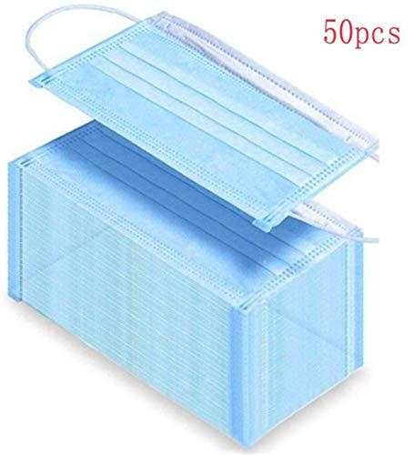 50 piezas de almohadillas antipolvo, almohadillas desechables con elástico/en stock, entrega rápida en 10 días hábiles