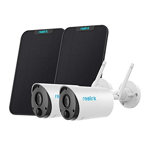 Wireless Outdoor Security Camera Reolink Argus Eco Bundle with Solar Panel System