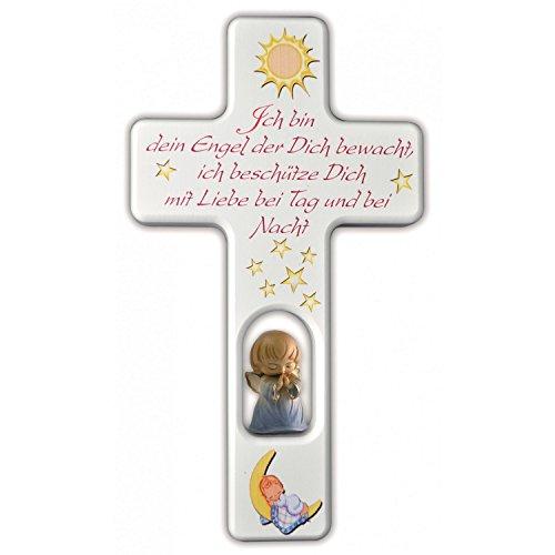 Kreuz mit Schutzengel für Jungen