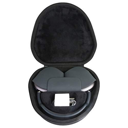 co2CREA Tasche für Apple AirPods Max Headset Hülle Case Etui Tragetasche (Schwarz)