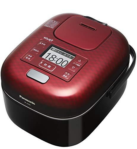 パナソニック 炊飯器 3合 ひとり暮らし 可変圧力IH式 可変圧力おどり炊き 豊穣ブラック SR-JX058-K