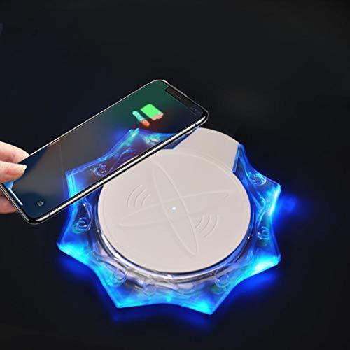 YAGAIU Caricabatterie Wireless Crystal Glow