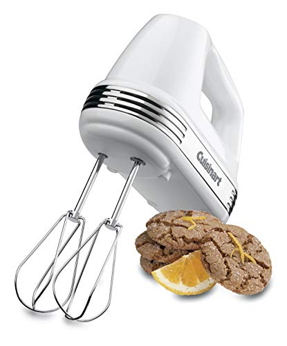 Cuisinart HM-50 Power Advantage 5-Speed Hand Mixer, White