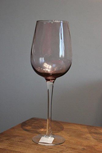 BAROLO glas, witte wijnglas, kleur paars, H 25 cm, diameter 8 cm