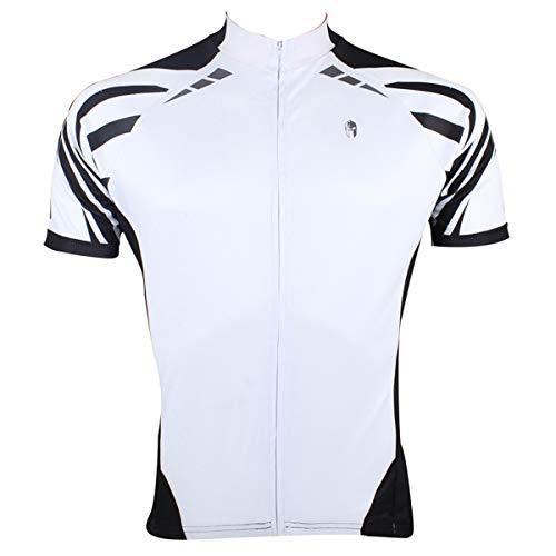 ILPALADINO® Ebay Explosions - Camiseta de Manga Corta para Hombre, Blanco, Large