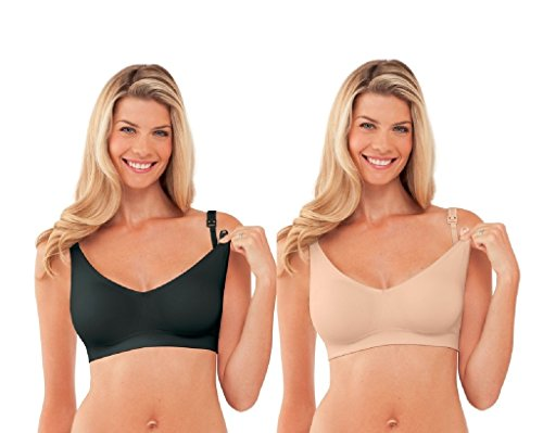 Bravado Body Silk 2 Pack Butterscoth and Black, Medium