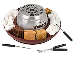 small Nostalgie LSM400 S'mores Indoor Stainless Steel Kettle