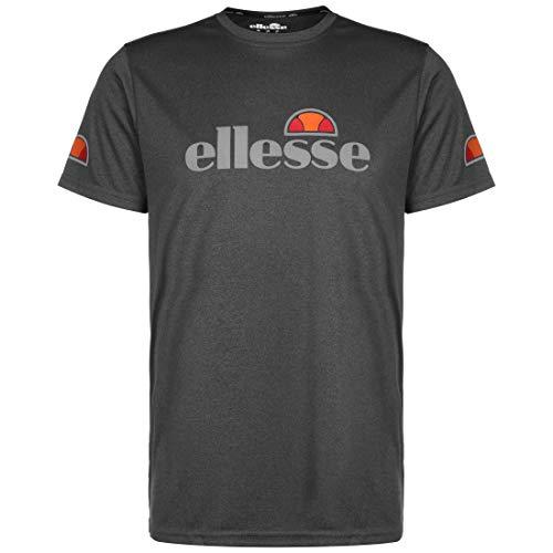 Ellesse Sammeti Camiseta para Hombre, Hombre, Camiseta, SXE06441, Negro Marl, S