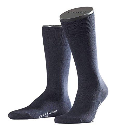 Falke City Herren Socken Cool 24/7 3er Pack, Größe:43/44;Farbe:dark navy (6370)