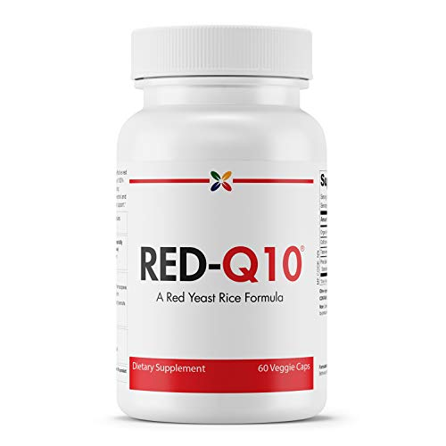Stop Aging Now - RED-Q10 Organic Red Yeast Rice with CoQ10 - Red Yeast Rice Formula - 60 Veggie Caps