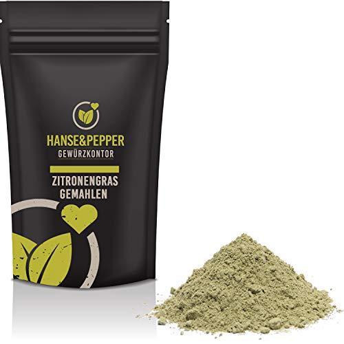 250g Zitronengras gemahlen Pulver natürlich vom Hanse&Pepper Gewürzkontor