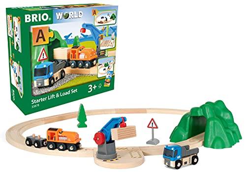 BRIO World 33878 - Starterset Güterzug...