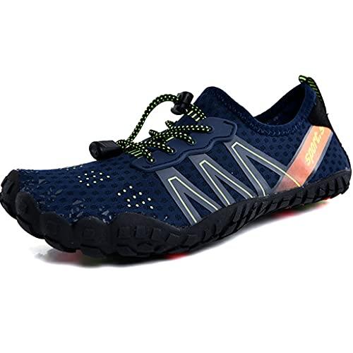 YUESFZ Zapatos De Vadeo Al Aire Libre para Parejas Que Recorren El Río, Botas De Buceo Anti-Corte De Secado Rápido para Hombre, Zapatos De Pesca Transpirables Antideslizantes