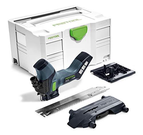 Festool Dämmstoffsäge ISC 240 Li EB-Basic Herstellernr. 574821, 18 V, Schwarz/Grün