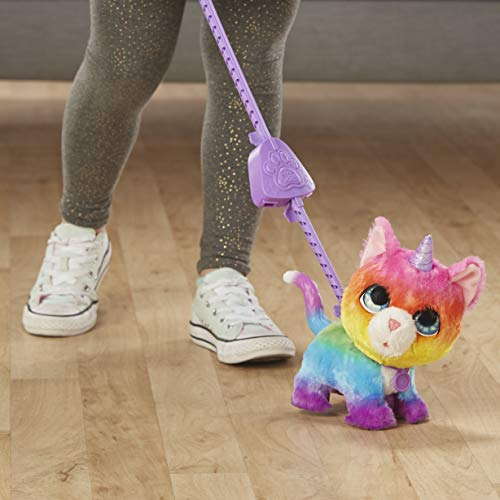 FurReal friends FRR WALKALOTS Big Wags Unicorn CAT