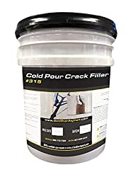small GoldStar Cold Pure crack filler. Easy to use! Simply fill in and refill.  5GL bucket.