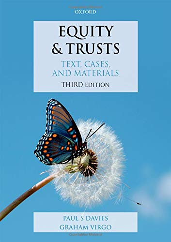 Davies, P: Equity & Trusts: Text, Cases, & Materials (Text, Cases, and Materials)