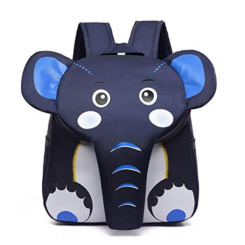 Rose olifant schooltassen voor meisjes jongens creatieve 3D dierenontwerp kinderen tassen kinderen rugzak cartoon schooltas