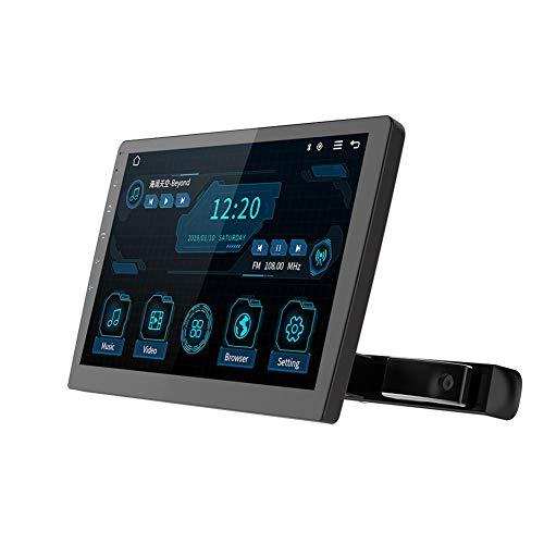 Tableta Android 8,1,Reproductor de DVD Portátil Bluetooth 4,0 IPS Pantalla Táctil Monitor para Coche Reposacabezas DVD,Soporte HDMI FM WiFi