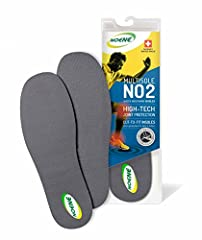 Size 1: (Men's 3½-9/Women's 5-10½) Our most VERSATILE insole can be worn on top of or underneath your original insole or orthotic EXTRA CUSHIONING - 2mm thin and light suitable for everyday use without changing the fit of your shoe Can be worn with s...