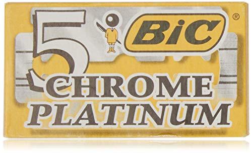 LAME BIC CHROME PLATINUM x5 lame