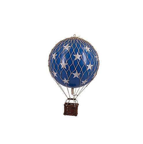 Authentic Models - Mobile - Dekoballon - Ballon - Travel Lights - Farbe: Blue Stars - ØxH: 8 x 20 cm