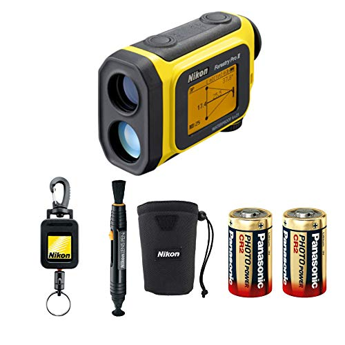 Nikon Forestry Pro II Laser Rangefinder Bundle with Lens Pen, Retractable...