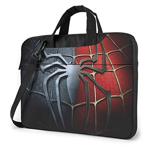 15.6 inch Laptop Shoulder Briefcase Messenger S-pi-derman Tablet Bussiness Carrying Handbag Case Sleeve