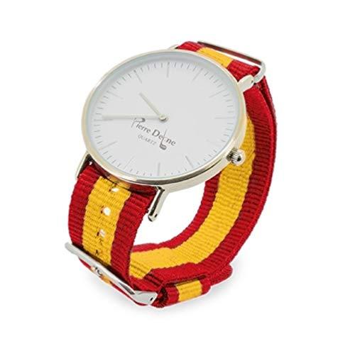 Set. Reloj España Pulseras Intercambiables Bandera