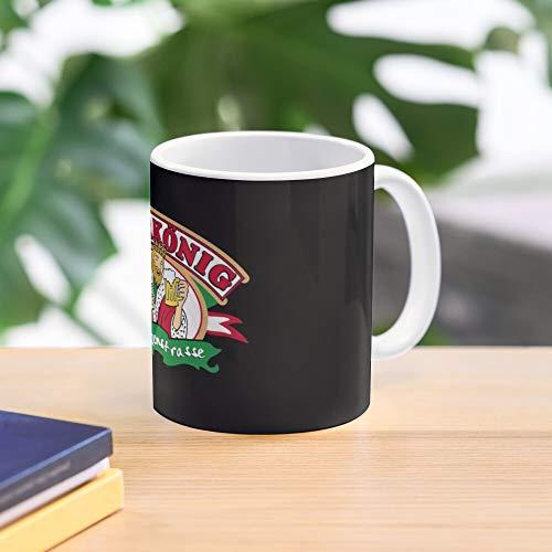5TheWay Party Bierkönig König Bier Palma Beer Fest Mallorca - Bestes 11 Unze-Keramik-Kaffeetasse Geschenk