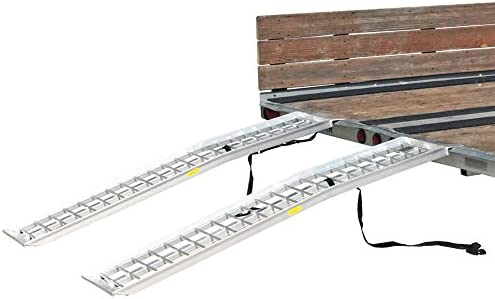 Rage Powersports 72 x 14 Dual Arched 2 000 lb Capacity ATV Trailer Loading Ramps product image