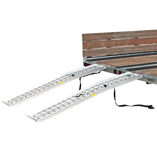 Rage Powersports 72 x 14 Dual Arched 2,000 lb Capacity ATV Trailer Loading Ramps