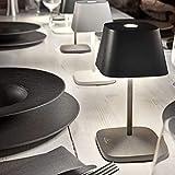 Villeroy & Boch Tischleuchte Neapel LED mit Akku - in verschiedenen Farben, Farbe:anthrazit - 2