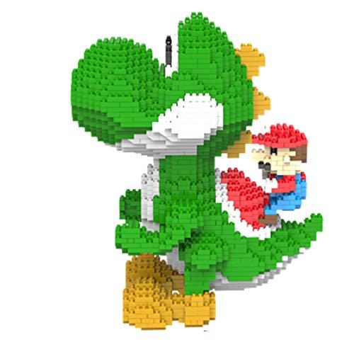 Mario Yoshi Famous Roles 2276+ Pcs Nano Mini Kits De Bloques De Construcción De Construcción De Niños De Bricolaje Educativo Regalos De Juguete