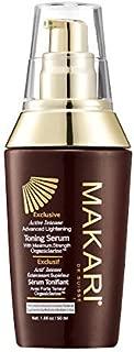 Makari Exclusive Skin Toning BODY Serum 1.7oz – Lightening, Brightening & Toning Body Serum with Organiclarine –Advanced Whitening Treatment for Dark Spots, Scars, Sun Patches & Hyperpigmentation