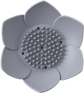 NIDONE Silicon Soap Dish Kreatywny Kwiat Ksztalt Silikon Uchwyt mydla Lazienka Prysznic Soap Gabka Uchwyt Oszukata Moda Pr...