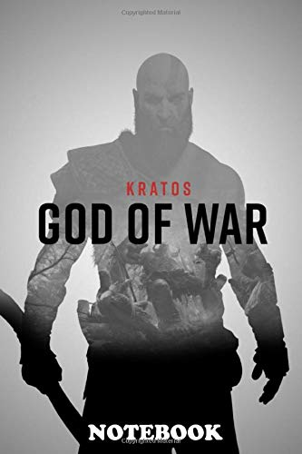 Notebook: Poster From The Video Game God Of War , Journal for Writing, College Ruled Size 6