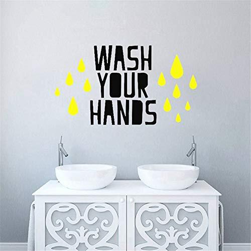Wandtattoo Wohnzimmer Wandtattoo Schlafzimmer Neue Waschtisch Badezimmer Sprüche Home Decor WC Aufkleber